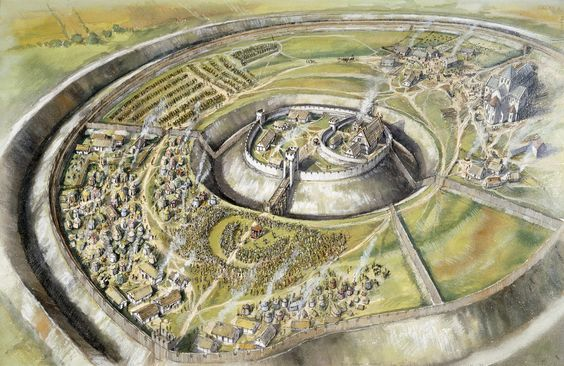 Archaeologists in southern England have discovered what may be one of the largest medieval royal palaces ever found – buried under the ground inside a vast prehistoric fortress.