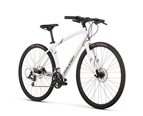 Raleigh Bikes Raleigh Alysa 3 Womens Urban Fitness Bike 13 Frame White 13 X Small For Sale Raleigh Bikes Biking Workout Hybrid Bike