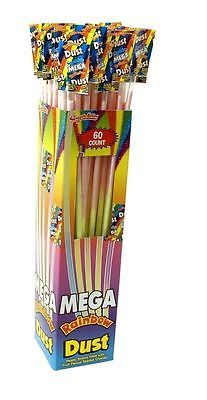 Mega jumbo swizzels #rainbow dust powder sherbet #straws #candy 10 - 60 full box,  View more on the LINK: 	http://www.zeppy.io/product/gb/2/191037939254/