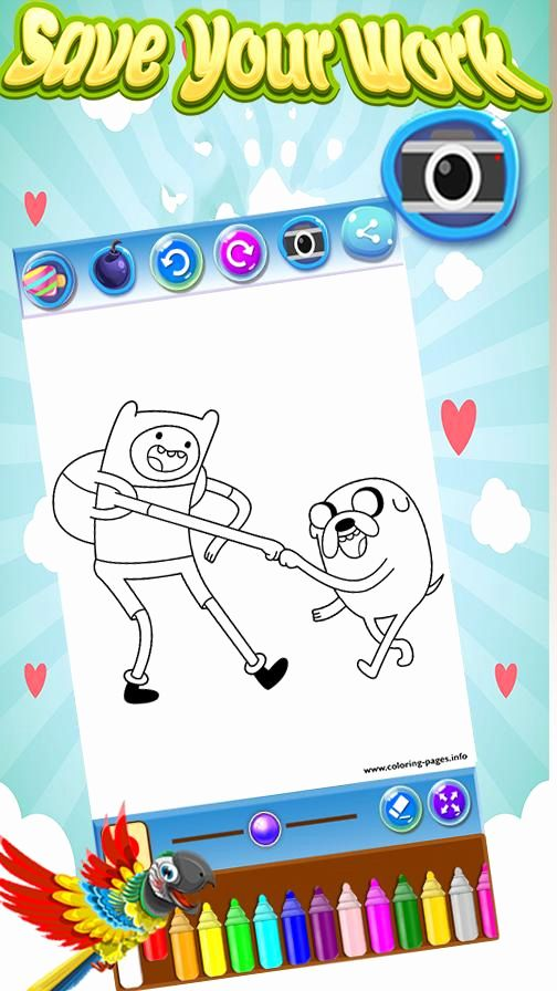 Adventure Time Coloring Book Best Of Dÿ ºdÿ Coloring Book For Adventure Time For Android Apk Downlo Coloring Books Kids Coloring Books Mandala Coloring Books