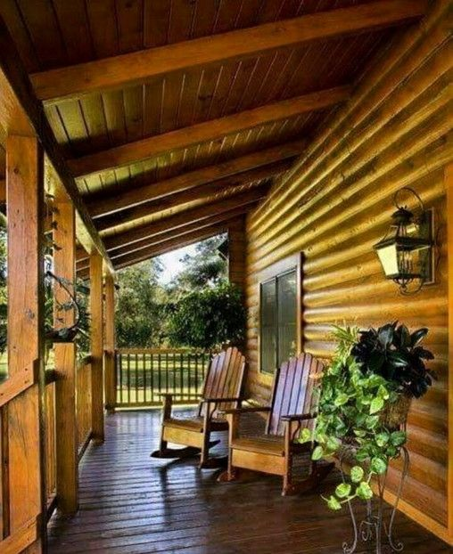 Small Log Cabin Ideas With Awesome Decoration In 2020