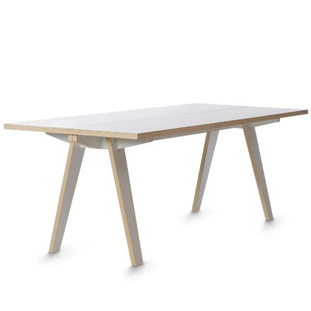 Steck Tisch, weiß