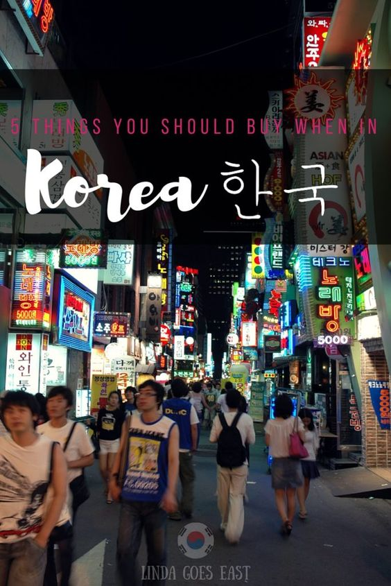 What To Buy When in Korea | Linda Goes East