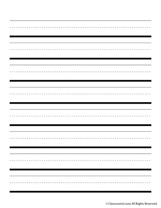 Doc590429 Writing Lines Template Free Printable Writing – Writing Lines Template