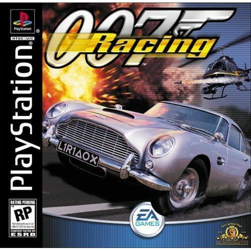 007 Racing Playstation 1 Ps1 Psx Game Only In Snap Case Black
