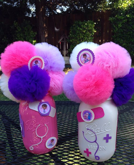 Doc McStuffins Birthday Party Decorations, Centerpieces, Table Decorations on Etsy, $25.00