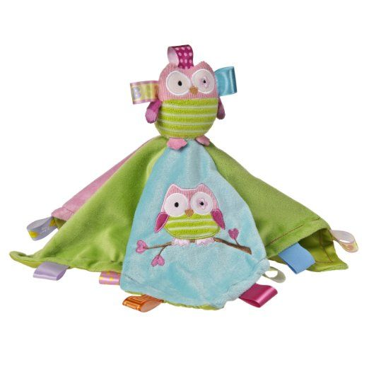 Amazon.com: Taggies Oodles Owl Character Blanket: Baby...I think I'll try something like this...