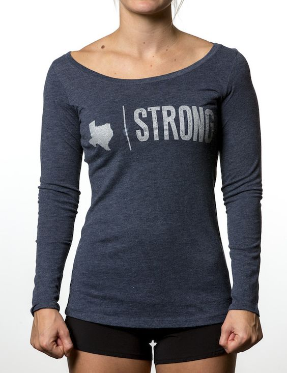 "Texas Strong from Compete Every Day - ""Some folks look at me and see a certain swagger, which in Texas is called 'walking.'""  Texas Strong is the original state pride shirt from Compete Every Day, y'all."