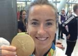 Maddie Hinch: Get out and play #hockey #olympicgold