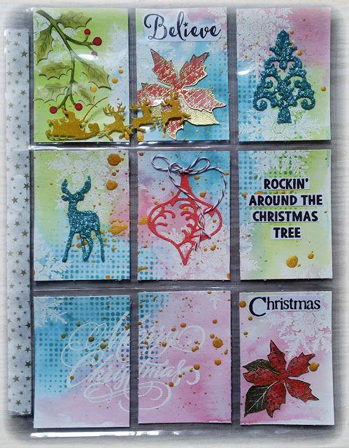 Susanne Rose - Papierkleckse: Christmas Pocket Letter
