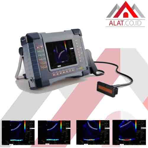 Phased Array Ultrasonic Flaw Detector Seri Cts 602 Objek Pengelasan Aplikasi