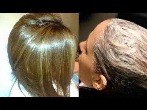 سيسالك الكل عن سر لون شعرك اصبغيه اشقر ذهبي بمكونات من البيت مع تغطية مثالية للشيب Youtube Hair Styles Skin Treatments Beauty