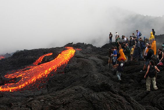"""Check that one off the bucket list: Climb Volcan de Pacaya in Guatemala.  (secondary checkmark for """"roast marshmallows over said volcano lava"""")"""