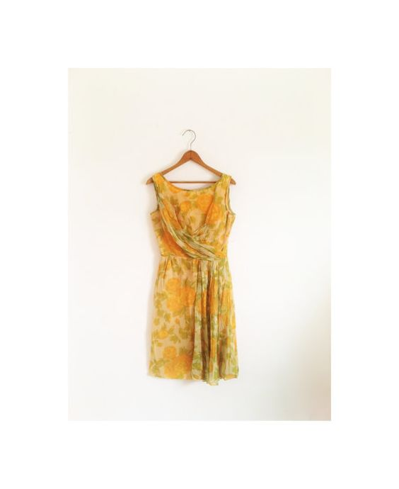 1940s1950s BEAUTIFUL classic wiggle party dress by croatiavintage, $72.00