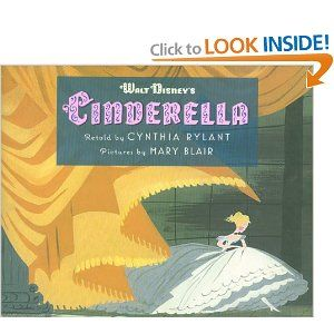 Cinderella picturebook
