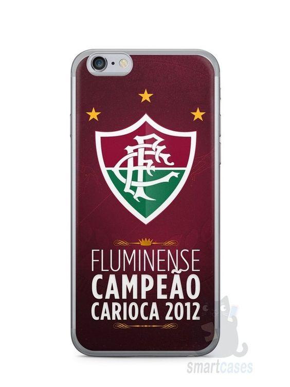 Capa Iphone 6/S Time Fluminense #2 - SmartCases - Acessórios para celulares e tablets :)