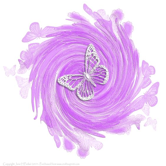 Butterfly Swirls love them both Swirls and Butterflies.