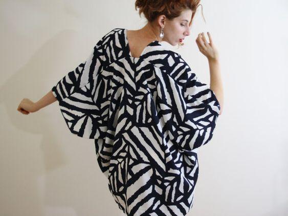 kimono jacket kimono robe kimono cardigan by WildRoseAndSparrow