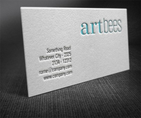 Printmoinscherfr Imprimerie en ligne pas cher et discount pour - letterpress business card