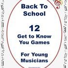 Back to School Ice Breakers for Music Classes   This is a PDF file containing TWELVE Ice Breaker activities for young musicians!   There are:  SIX ...