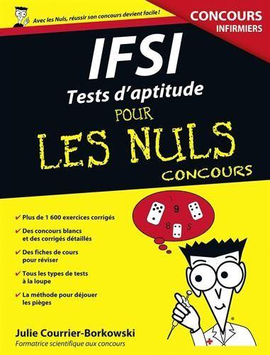 IFSI Tests d'aptitude Pour les Nuls Concours de Julie COU... https://www.amazon.fr/dp/275406415X/ref=cm_sw_r_pi_dp_ojONxbMN184JG