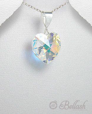 52755317 Pendiente de Cristal Swarovski, Plata, (En oferta)
