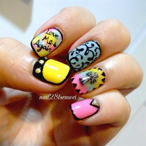 Ejasi Color Gel Nails Design By Renhexin Nail Art Gallery