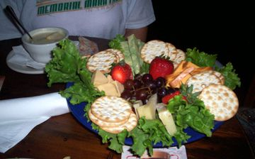 Cheese platter from McNellie's. Best bar food ever.