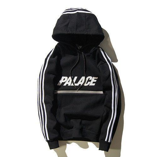 Palace Skateboard Hoodies Men Pullover zipper kanye West Sweatshirts Printed Autumn Spring Tracksuit 2017 Streetwear ZOOTOP BEAR