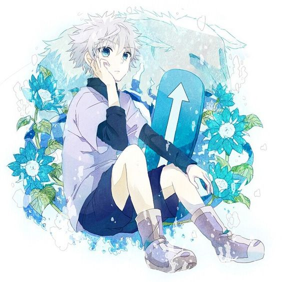 Out of ALL ASSASSINS Killua is the cutest! #killua #kiruazoldyck #kirua #zoldyck #assassin #hxh