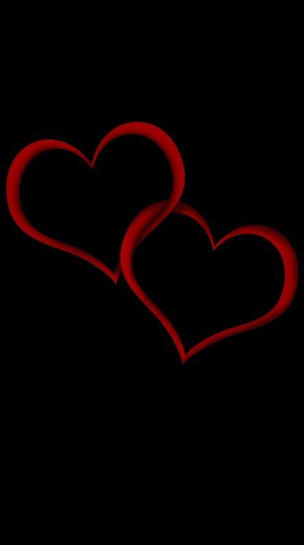 Two Hearts Heart Wallpaper Name Wallpaper Love Heart Images