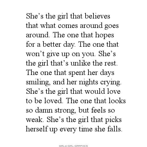 25 Powerful Girl Quotes & Sayings | Strong quotes, Life ...