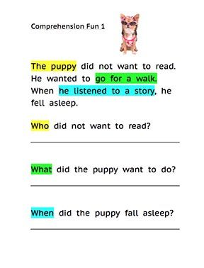 Printables Reading Comprehension And Questions Worksheets cracking the comprehension code part 2 reading and special needs pinterest compr
