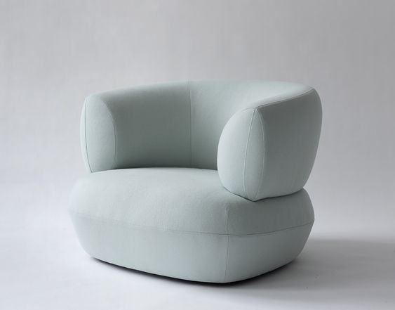 SOFT BLUE CHAIRS   Modern design for you home   www.bocadolobo.com/ #modernchairs #chairideas