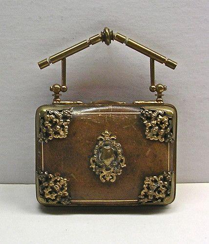 ORIGINAL-Victorian-Leather-Purse-4-Compartments-Beautiful-RARE-Top-Quality