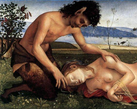"""consquisiteparole: """" """"Piero di Cosimo, Morte di Procri; 1495 circa – National Gallery, Londra. """" """""""