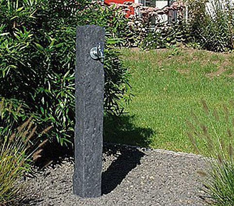 Graf Wasserzapfsaule Poly Granit Darkgranite 356025 Kunststoff Wasserstelle Wasserhahn 3 4 Chrom Wasserhahn Garten Wasserzapfsaule Wasserzapfstelle