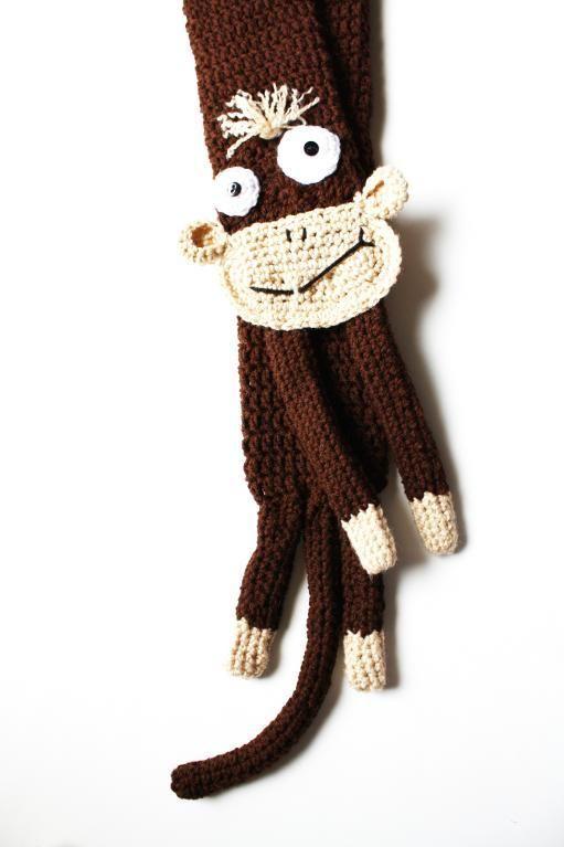 Único Crochet Patrón De Bufanda Niño Cresta - Patrón de Vestido de ...