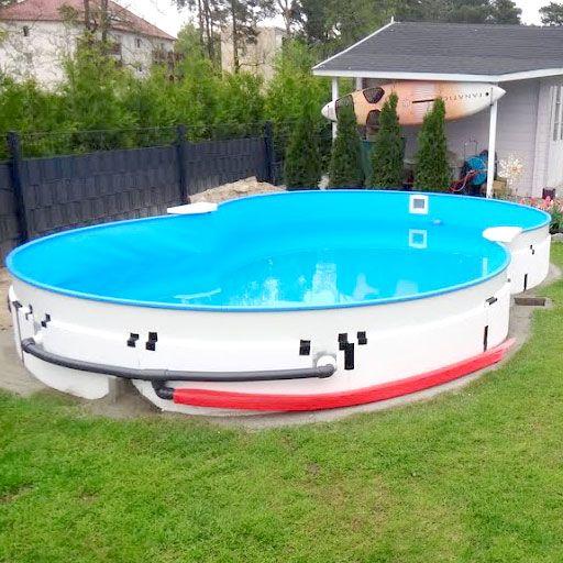 Aufbau Von Stahlwand Pools In 9 Schritten In 2020 Garten Pool Selber Bauen Gartenpools Pool Selber Bauen