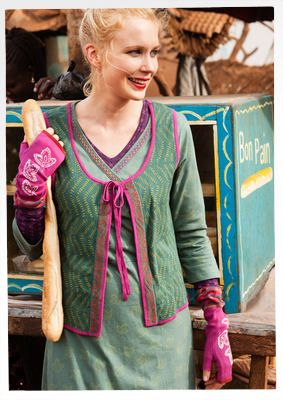 """""""Zaza"""" eco-cotton waistcoat – Blouses & waistcoats – GUDRUN SJÖDÉN – Webshop, mail order and boutiques 