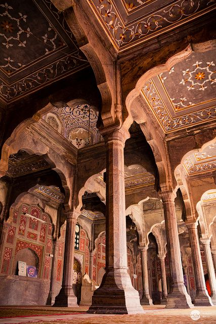 """Badshahi Mosque, Lahore    """"Let mercy be your mosque, faith your prayer-mat, and honest living your Quran."""""""