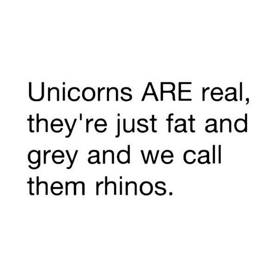 They are real!