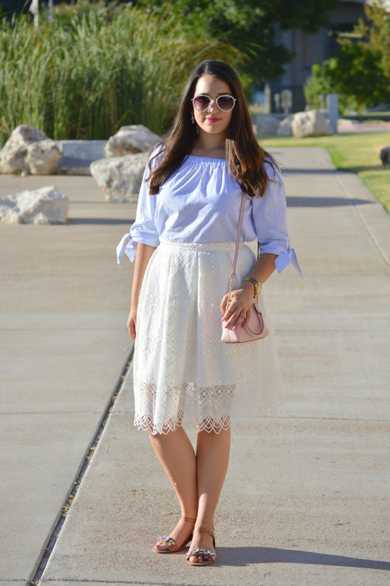 Fabulously Dressed: off-the-shoulder top