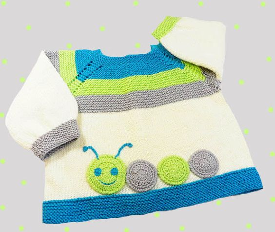 Knitted baby sweater, baby knits, hand knitted baby cardigan, boys sweater,girls sweater, READY TO SHIP: