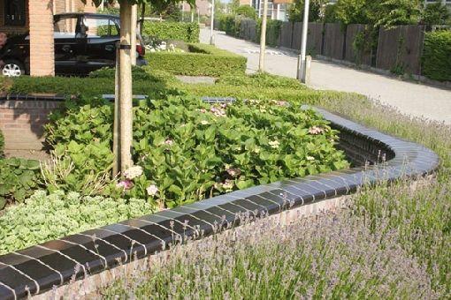 Gardenplaza - Dekorative Gartengestaltung mit Mauer- und Pfeilerabdeckungen - Krönender Abschluss aus Vollkeramik