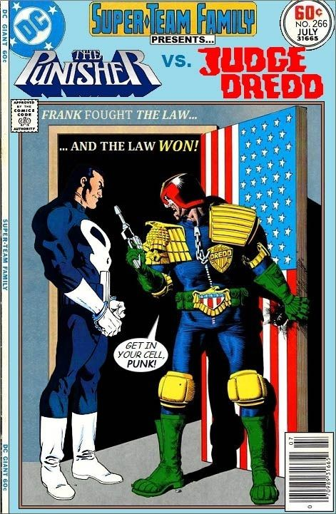 Super-Team Family: The Lost Issues!: The Punisher Vs. Judge Dredd