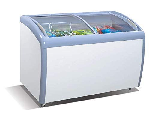 Tiger Chef Commercial Angle Curved Top Chest Freezer Gl