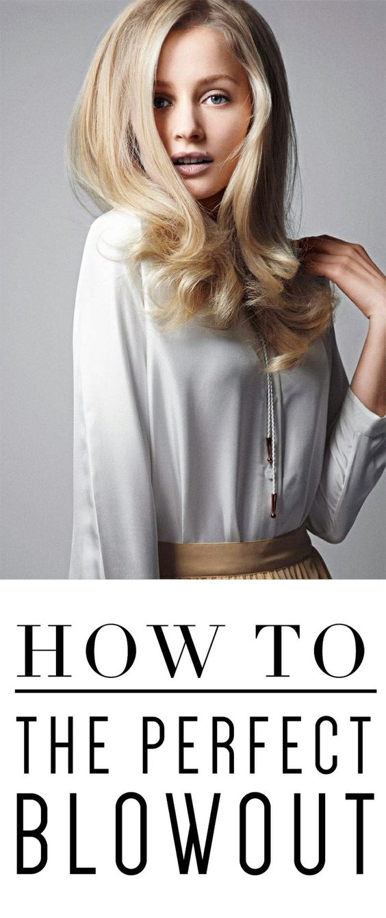 How to silky the perfect blowout video