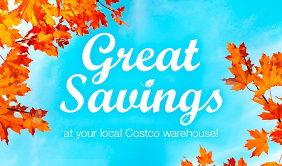 Great savings at your local Costco warehouse!