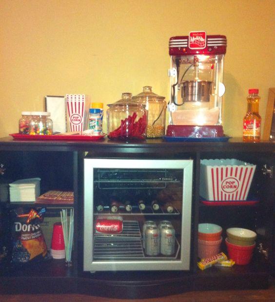 Teenage snack bar!  Christmas gift to our kids!